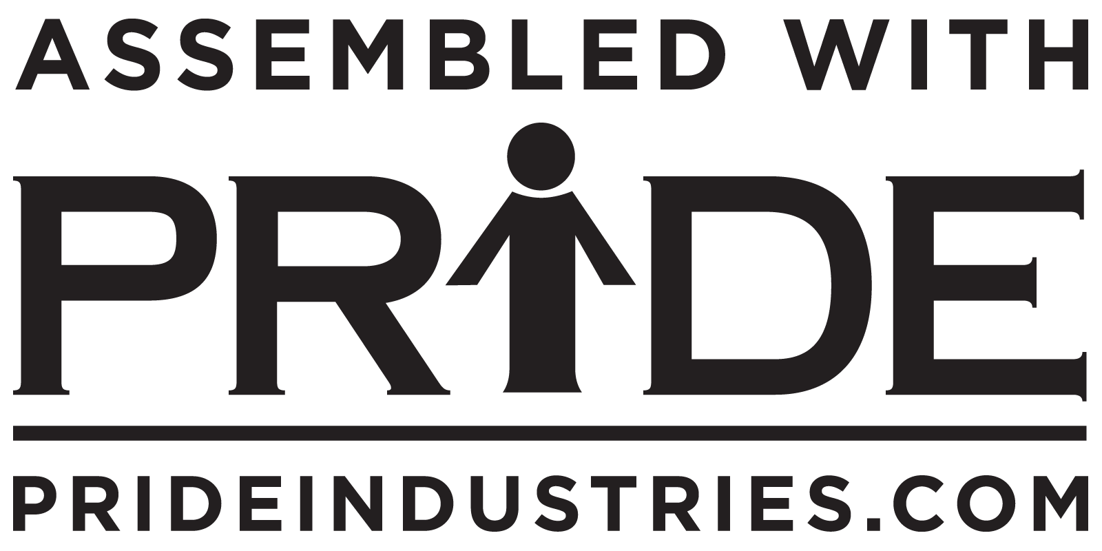 assembled with pride logo